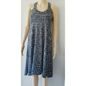 Prana Racerback Midi Dress Size Large